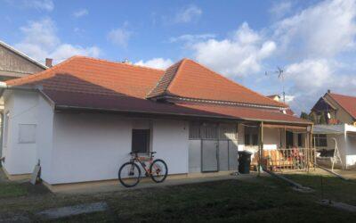 Bánomkertben 2 szobás családi ház 770 m2-es telken eladó