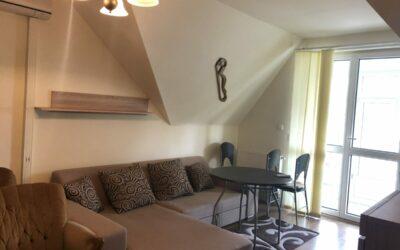 Központban 45 m2-es, 1,5 szobás társasházi szép lakás eladó